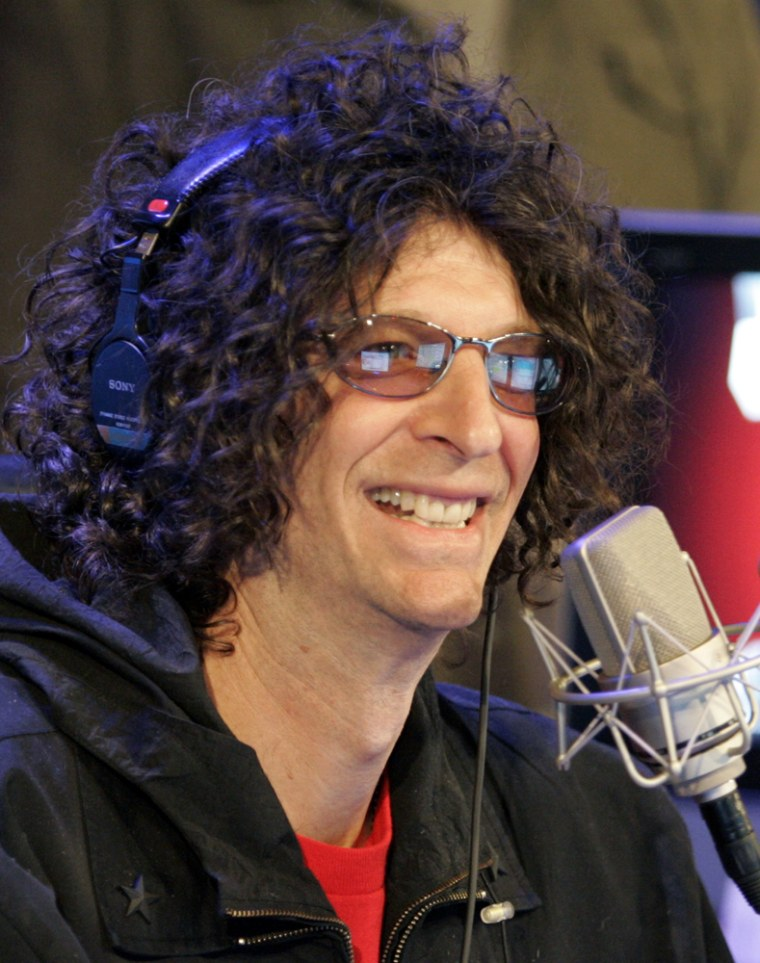 Howard Stern's listeners are down to 4.4 million from his old-radio days of 12 million.