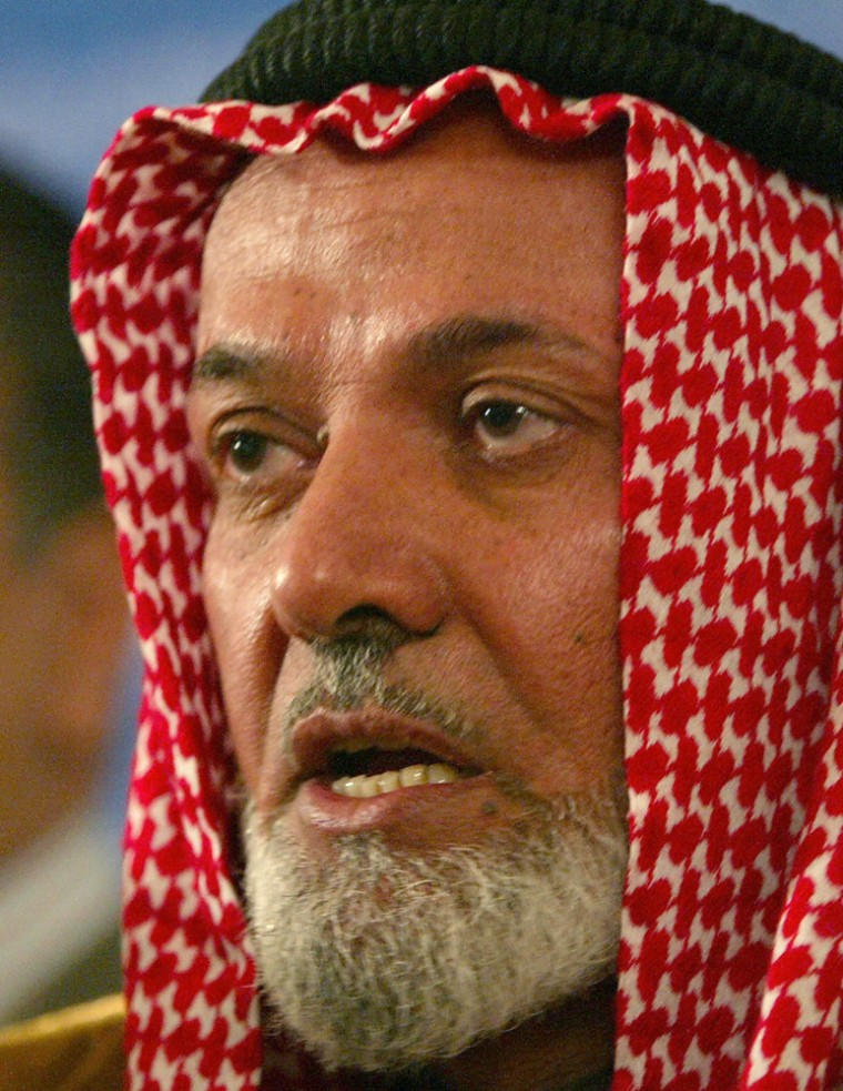 The head of the Muslim Scholar Committee