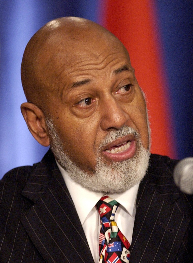 President of the OSCE PA, Alcee Hastings