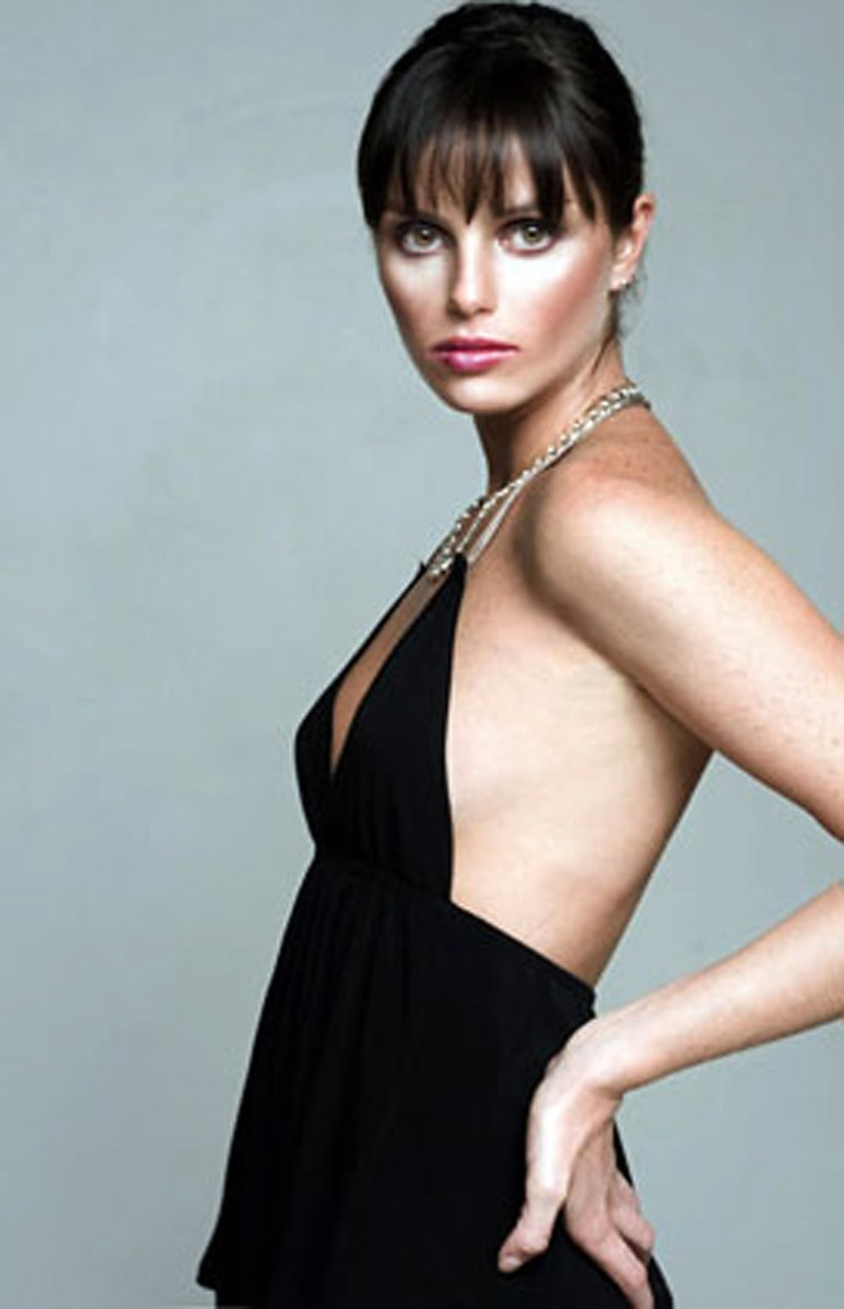 Brazilian model Ana Carolina Reston, who died on November 14 in Sao Paulo from a generalized infection caused by anorexia, is seen in a handout picture released by the L'Equipe modeling agency