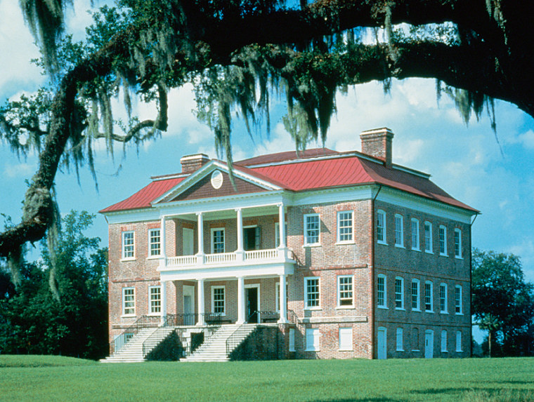 Drayton Hall, a National Trust historic site in Charleston.
