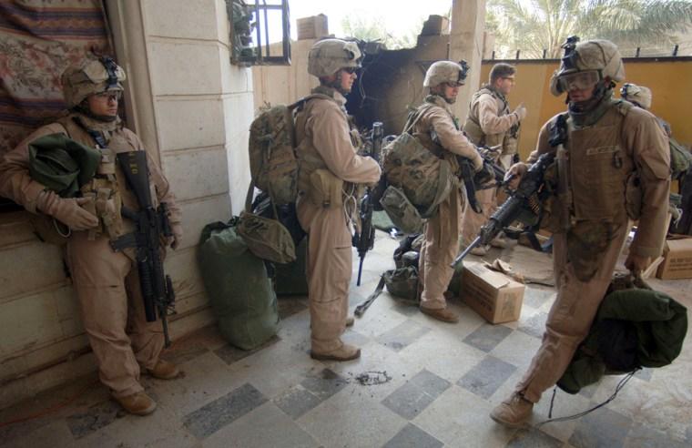 U.S. Marines Keep Hold Of Fallujah