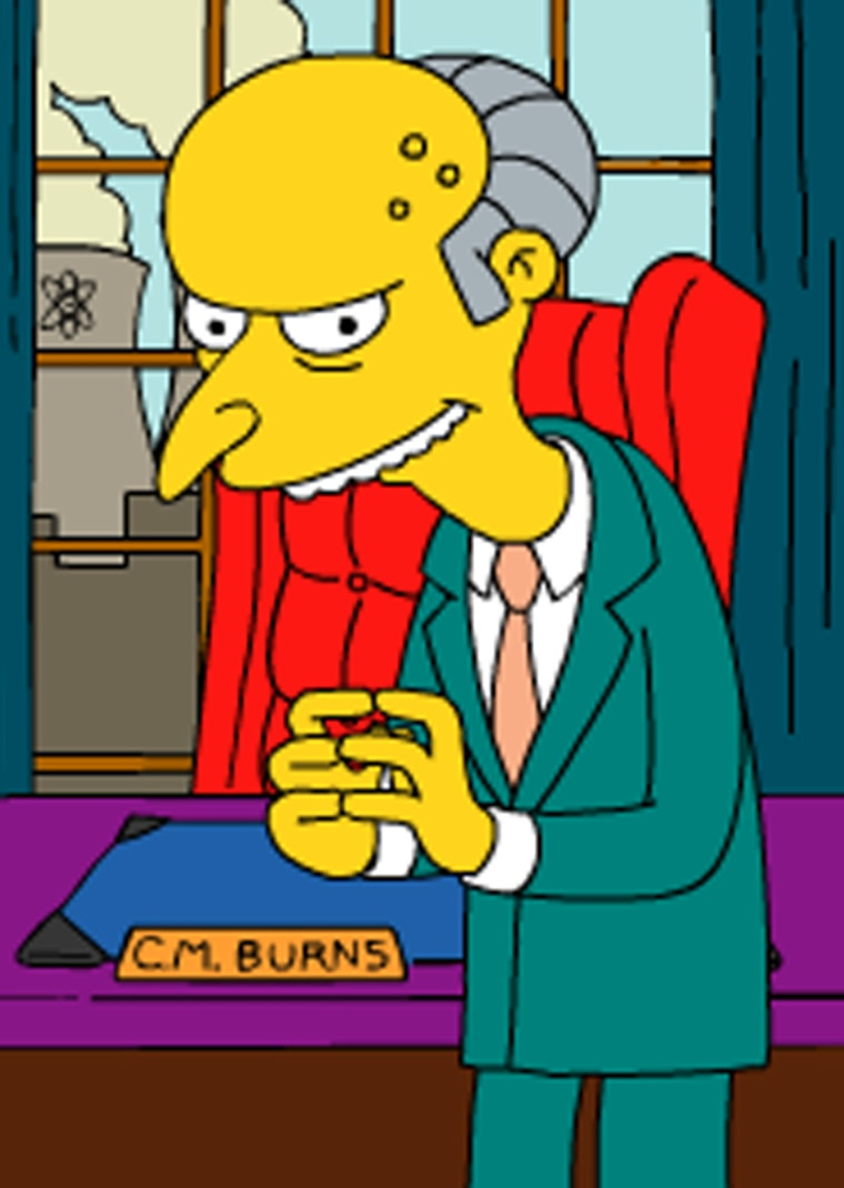 """Longtime FF15 member C. Montgomery Burns doubled his fortune to $16.8 billion in just 12 months, thanks in large part to a """"technology exchange"""" deal with North Korean dictator Kim Jong Il."""