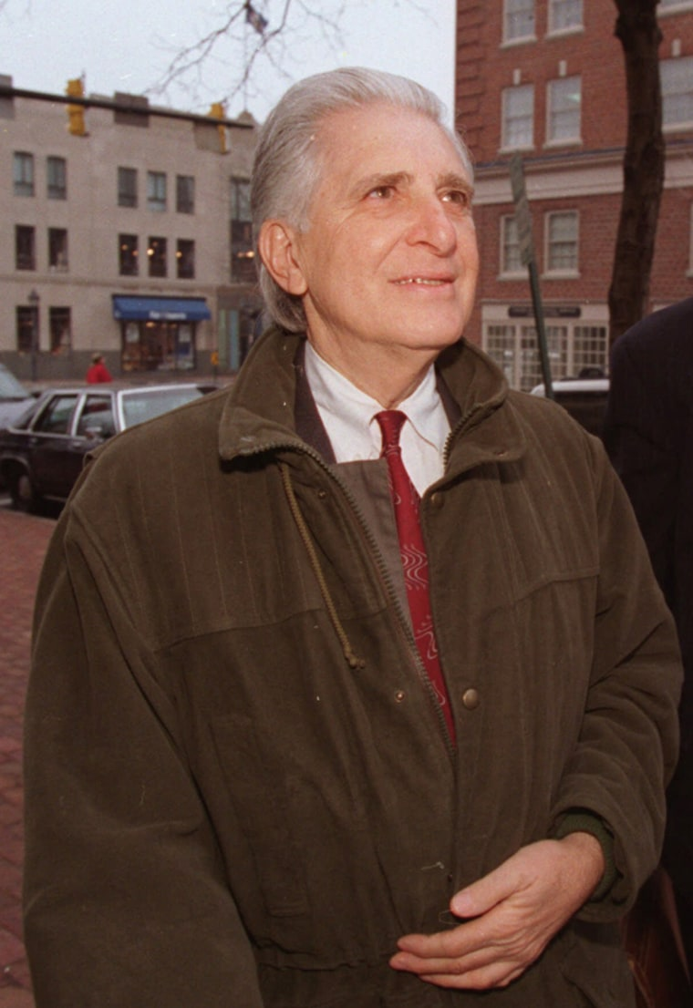 William J. Aramony, a former United Way of America chief who pilfered hundreds of thousands of dollars from the charity, is shown in a March 6, 1995, file photo.