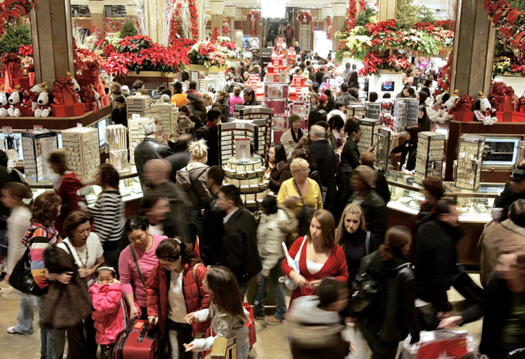 "Christmas Shopping Season Gets Underway On \""Black Friday\"""