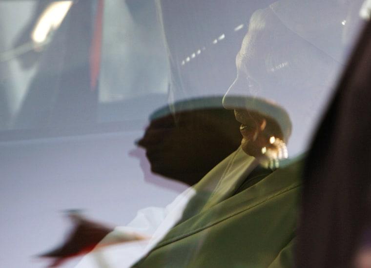 Pope Benedict XVI leaves Esenboga Airport in Ankara