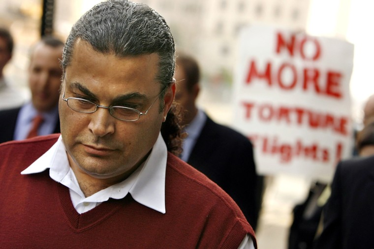 Former Detainee Seeks To Sue In CIA Rendition Case