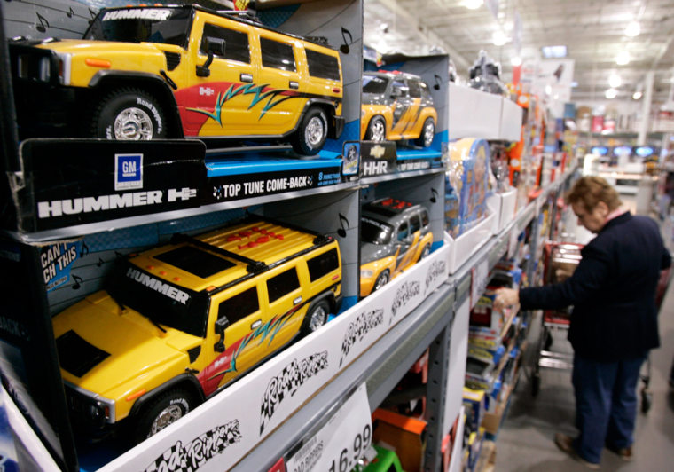 The U.S. toy industry rang up $12.7 billion in sales this year through October — down 2.4 percent from a year ago, according to market research firm NPD Group.
