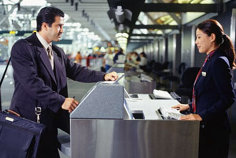 Getting to the airport early is important for business travelers during the busy holiday season.