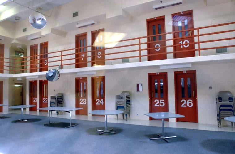 Custody areas at Boulder County Jail in Colorado.