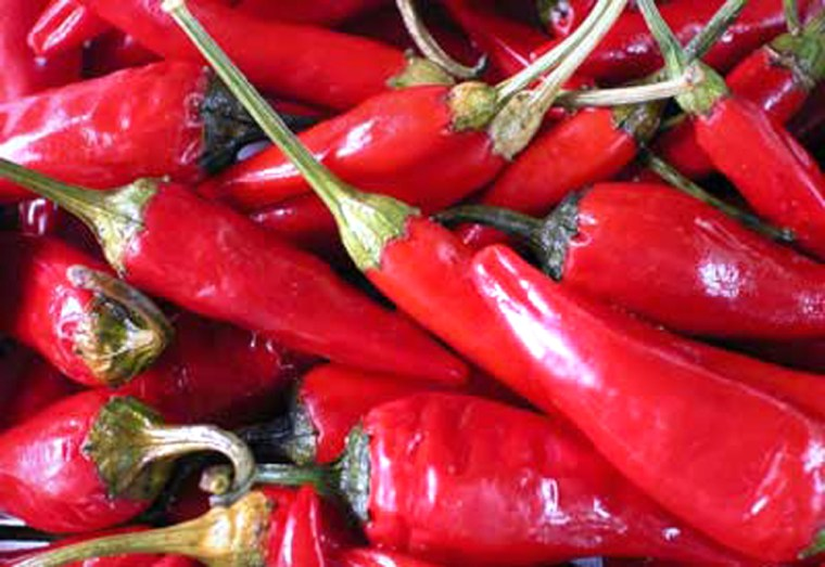 Chili peppers can stimulate the nervous system and enhance the feelings of sexual arousal.