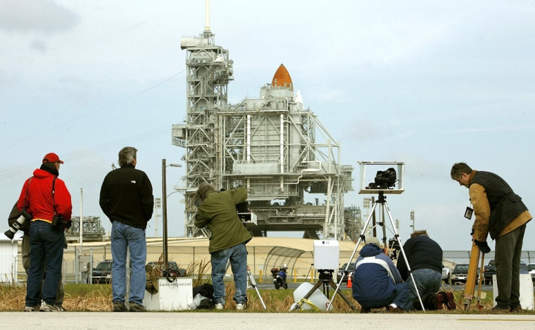 NASA Reschedules Launch Of Space Shuttle