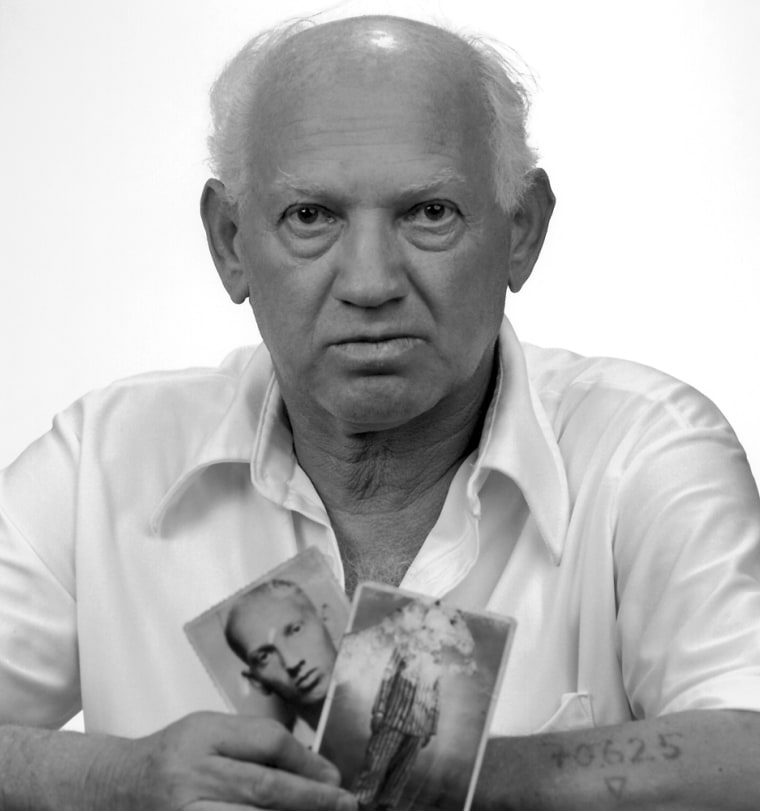 This black and white portrait of Albert Ryb, taken by Herbert Ascherman Jr. in Cleveland Heights, Ohio, in 1985, will be displayed at the Maltz Museum of Jewish Heritage in Beachwood, Ohio.
