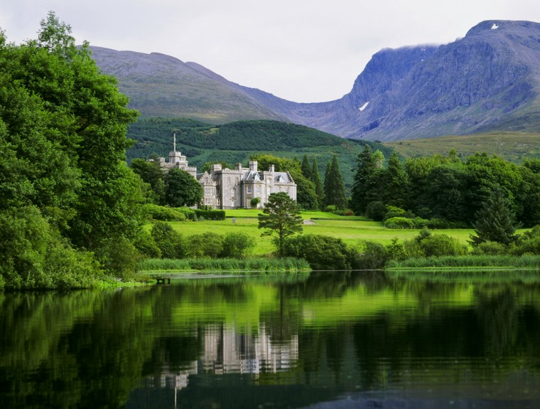 """""""I never saw a lovelier or more romantic spot,"""" wrote Queen Victoria of the Inverlochy Castle in Fort William, Scotland. In addition to hiking, Inverlochy offers an 18-hole golf course, whitewater rafting, mountain biking, skiing and off-road driving."""