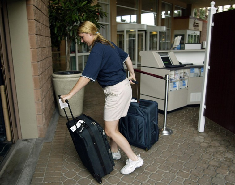 Remote Baggage Check-In Counter Opens In Hotel