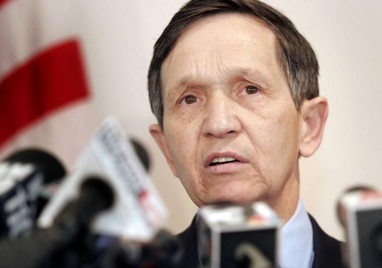 Kucinich Announces Presidential Bid For 2008