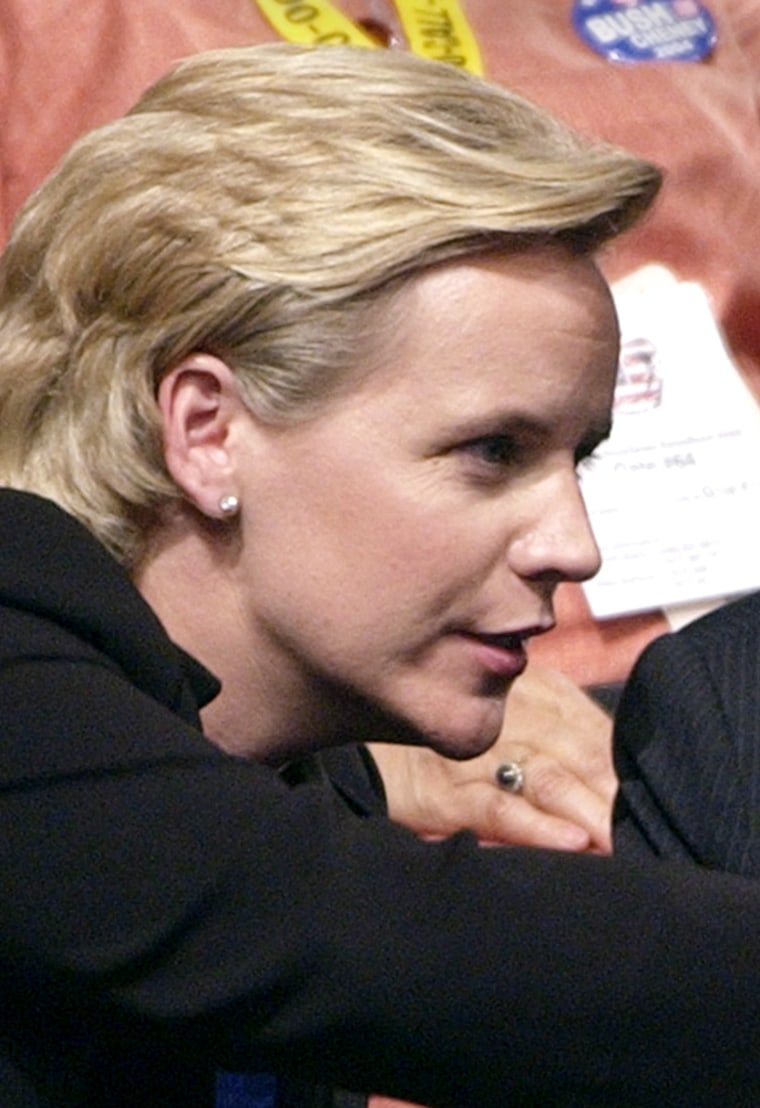 Mary Cheney, the vice president's openly lesbian daughter, is expecting her first child.