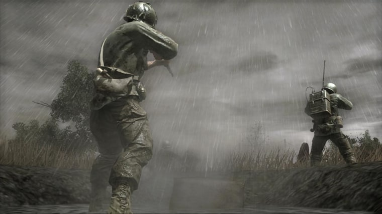 "The stunning high-definition visuals of Call of Duty 3"" suffer from slight frame-rate issues when played on the PlayStation 3."
