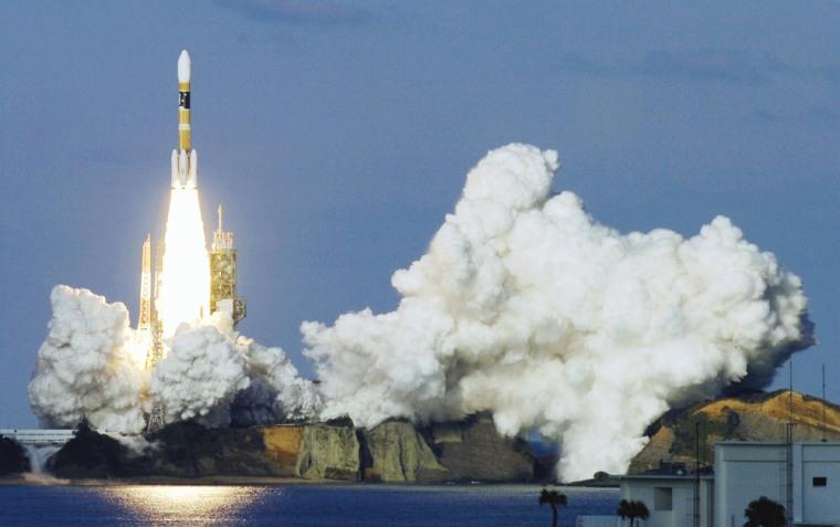H-2A rocket, Kiku No. 8 satellite