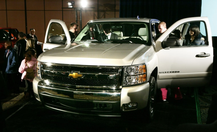The Chevrolet Silverado has been named 2007 truck of the year by Motor Trend magazine, an award that could increase the popular truck's already strong sales.