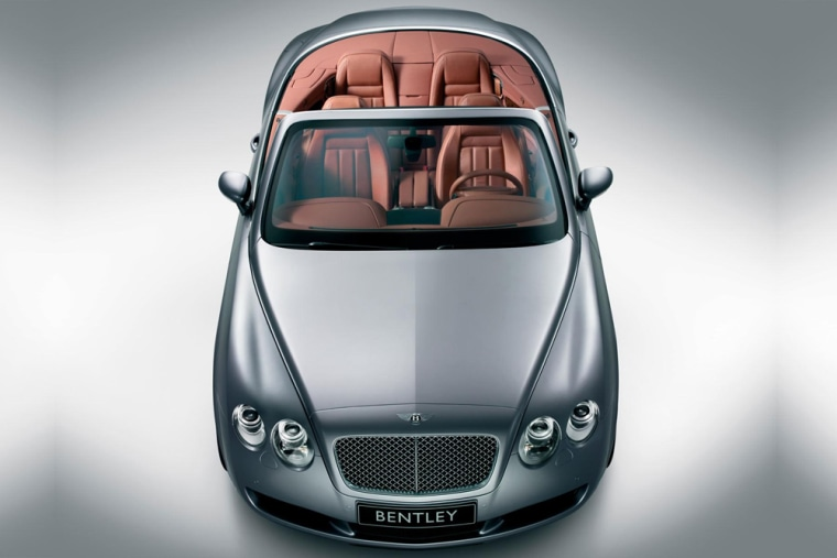 The Bentley Continental GTC, one of the hottest cars for 2007, is a sexy new droptop version of the sporty Continental GT coupe.