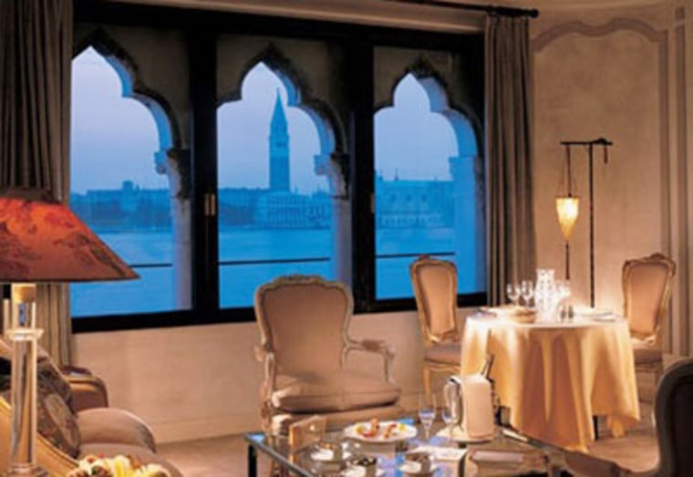 The Hotel Cipriani in Venice sets itself apart thanks to its location, its commitment to old-school indulgence and its illustrious history. Current rate? $2,238.99