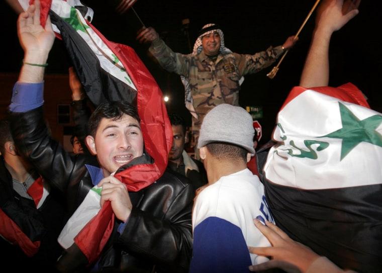 Arab And Kurdish Americans React To Saddam Hussein's Execution