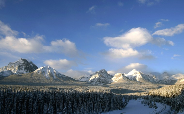 The Canadian Rockies in the Banff Nation