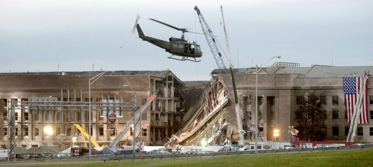 Recovery Efforts at the Pentagon