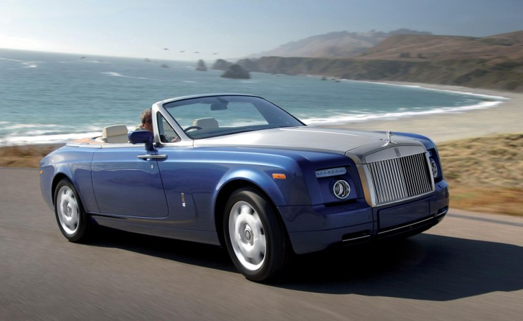 Rolls-Royce will show off the Phantom Drophead convertible at the 2007 Detroit Auto Show.