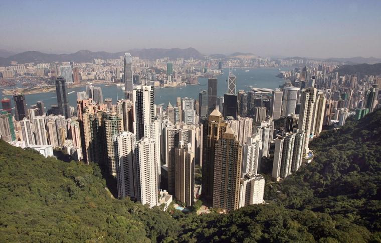 TO GO WITH STORY HongKong-economy-proper