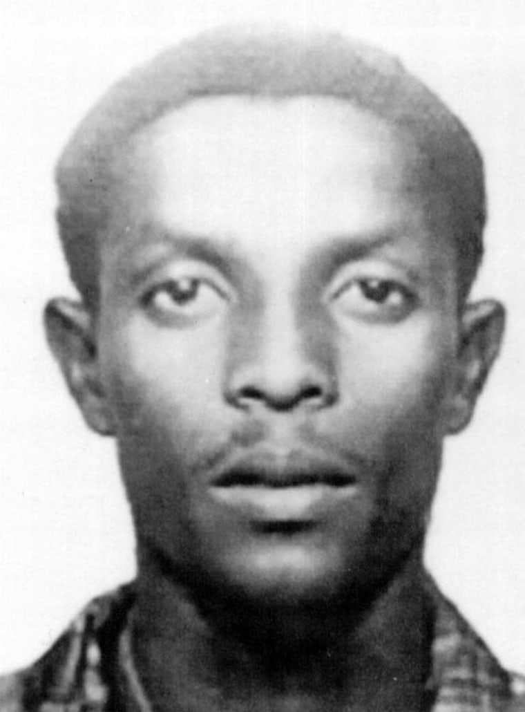 Fazul Abdullah Mohammed, a suspected terrorist wanted in connection with the 1998 bombings of the U.S. embassies in Tanzania and Nairobi, is shown in a photo released by the FBI on Oct. 10, 2001, in Washington.