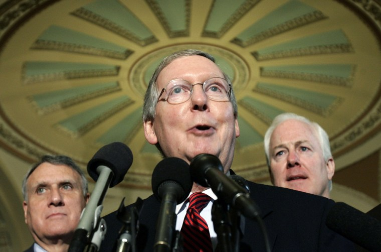 McConnell Outlines GOP Agenda For Next Congress