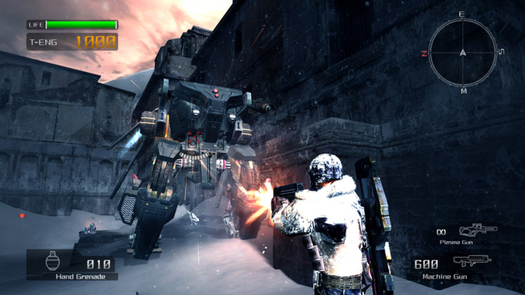 """""""Lost Planet: Extreme Condition,"""" takes you to the snow-covered planet of E.D.N. III, which doesn't look so much like Eden."""