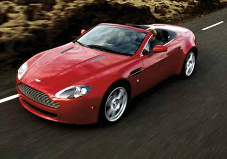 Aston's V-8 Vantage convertible is a drop-top version of an existing model — but a version customers have been clamoring for.