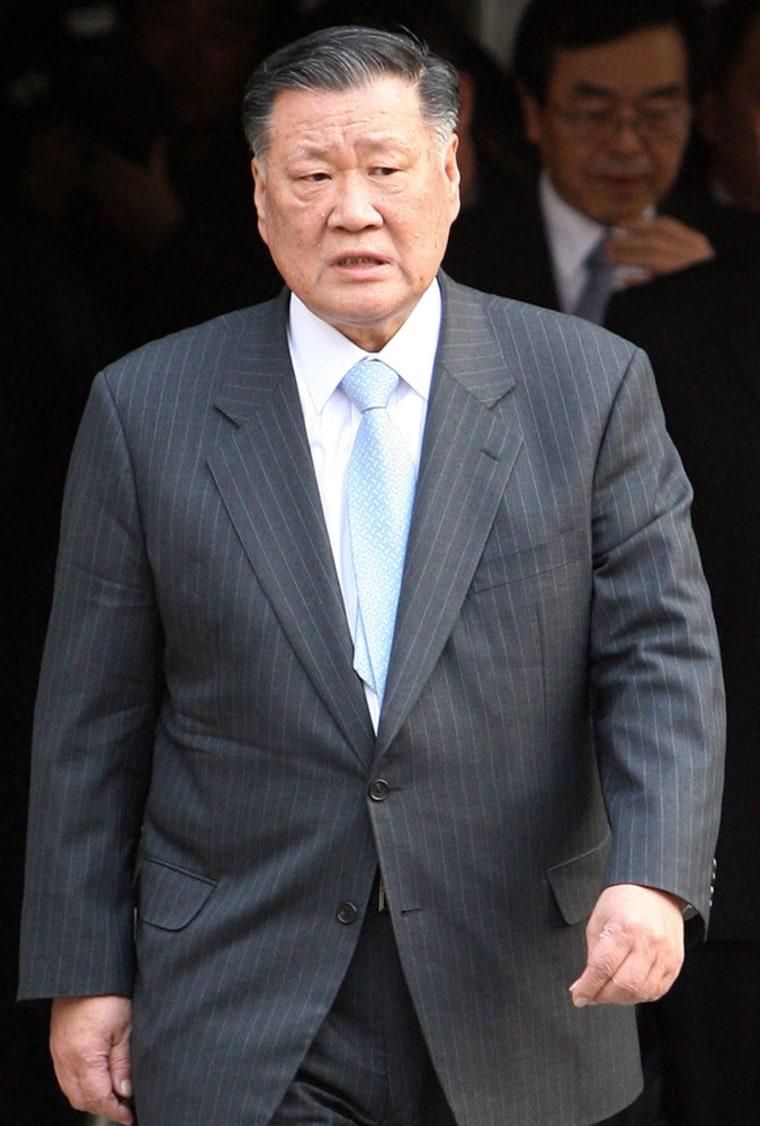 Chung Mong-Koo, the head of South Korea'