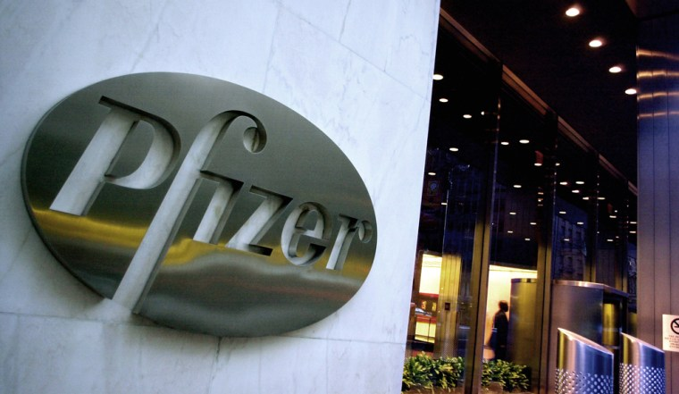 Pfizer Inc. is at risk of losing 41 percent of its sales to generic competition between 2010 and 2012, according to one analyst.