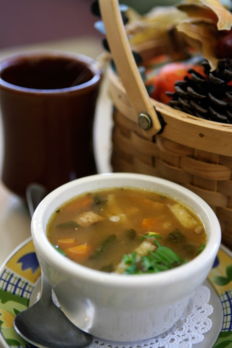 Soup is a convenient way to work more vegetables into meals.