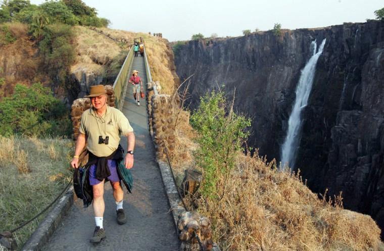 Tourists visit 26 September 2006 in Livi