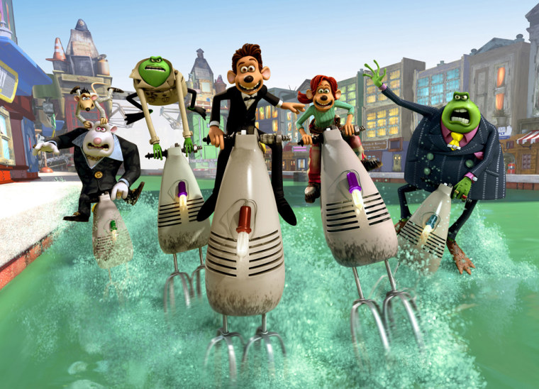 'Flushed Away' cost DreamWorks $142.9 million and earned about $50 million at the box office.