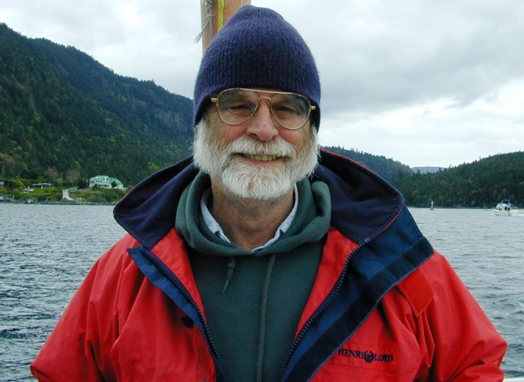 This undated photo provided by Microsoft shows Jim Gray, 63, of San Francisco. The U.S. Coast Guard searched the waters off Northern California on Wednesday for Gray.