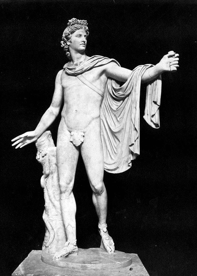 Apollo And A Fig Leaf