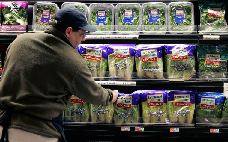 More than half of the people who ate spinach prior to the recall hadn't returned to eating it when the survey was taken.