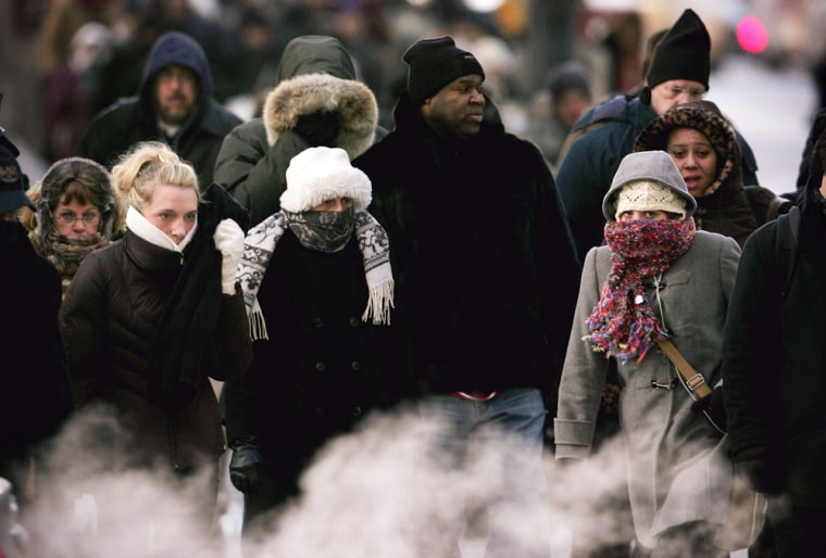Arctic Air Mass Brings Deep Freeze To Midwest, Northeast