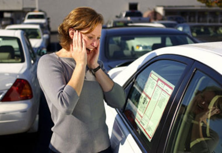 Sticker shock? Despite the mistrust, most people like haggling over the cost of an automobile.