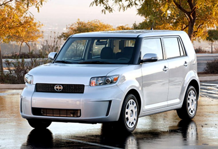 Scion's 2008 xB is one of the new cars on show at this year's Chicago show.