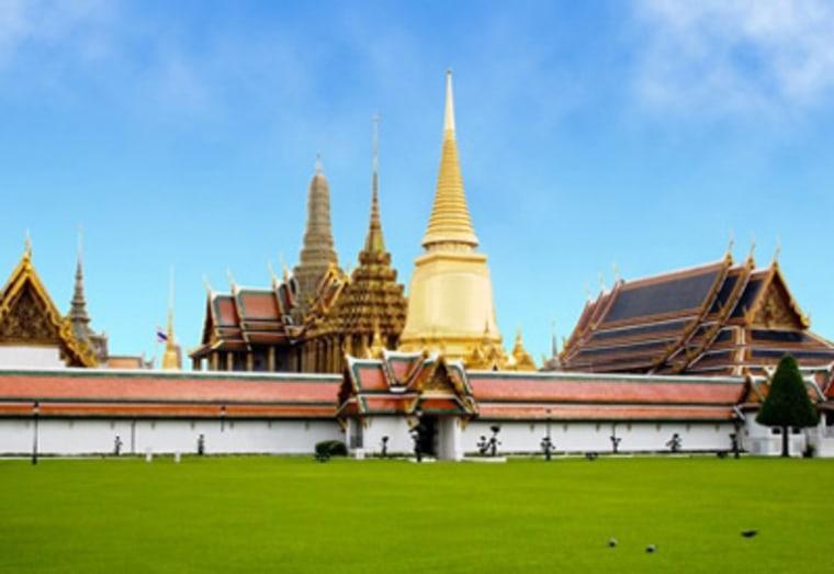 The Grand Palace inBangkok