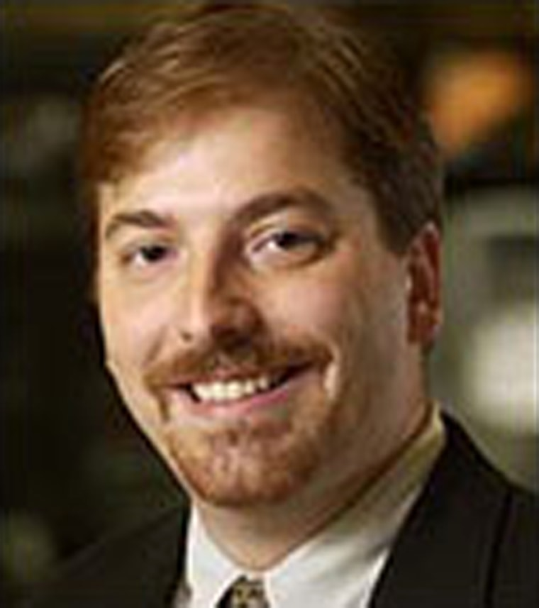 Chuck Todd has been associated with The Hotline, a daily political roundup, for 15 years.