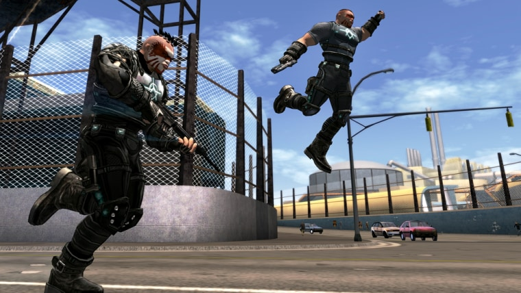 """""""Crackdown"""" lets players recruit a buddy for online co-op play, but that's not enough to make it much more than mediocre."""