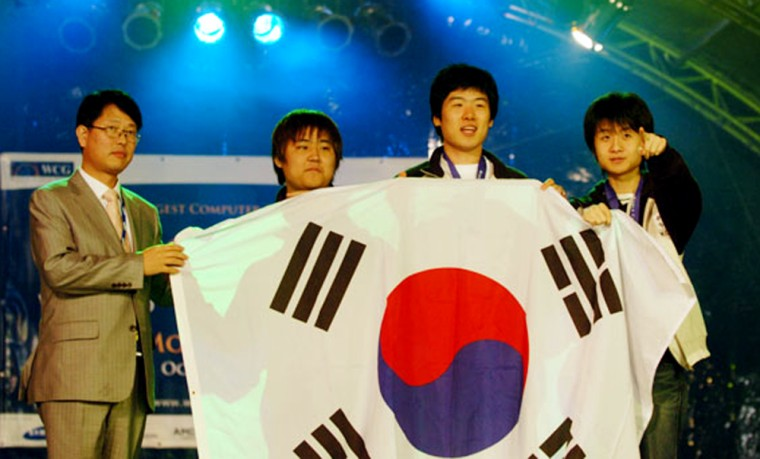 """At the 2006 World Cyber Games, South Korea recaptured its """"Grand Champion"""" crown, which it lost back in 2003. Pro gamers are accorded rock star status in the game-crazy nation."""